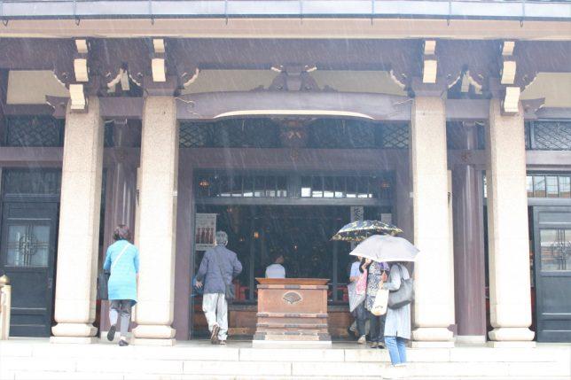 巣鴨のとげぬき地蔵尊、高岩寺の本堂