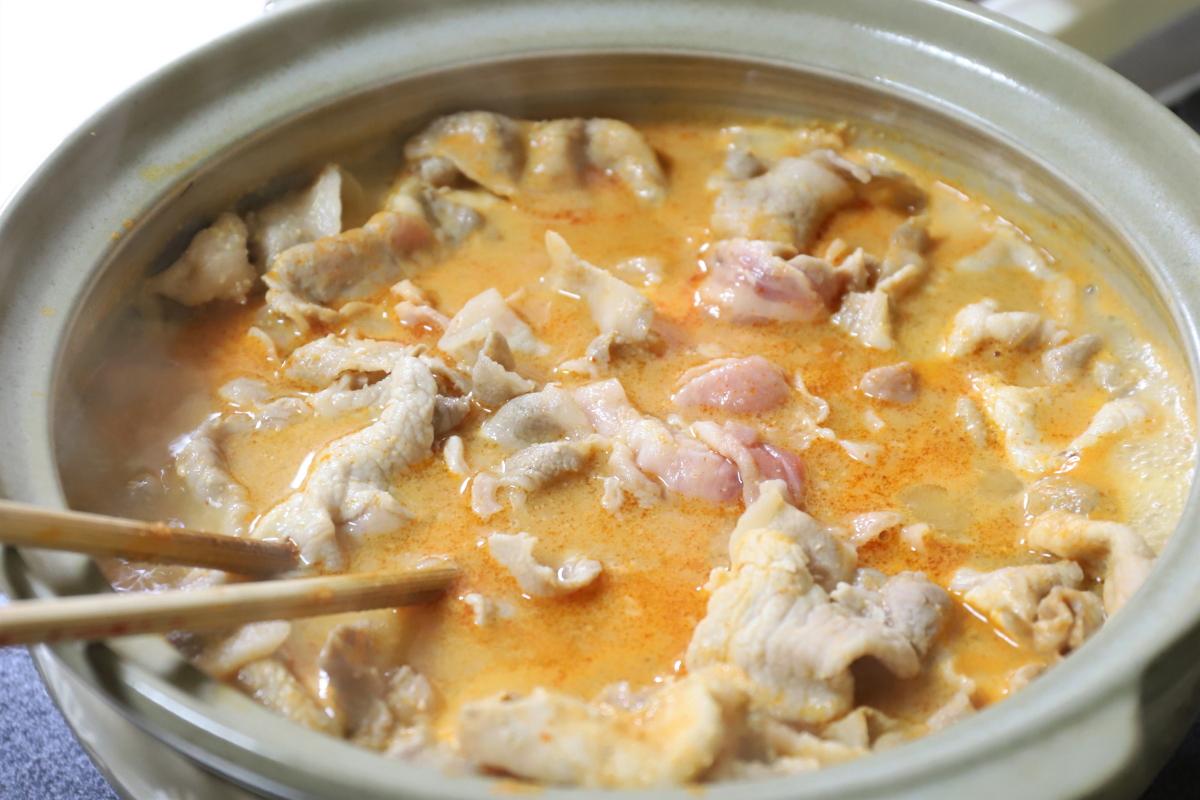 鍋 とり 味噌
