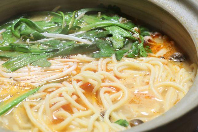 ピリ辛とり野菜みそラーメン