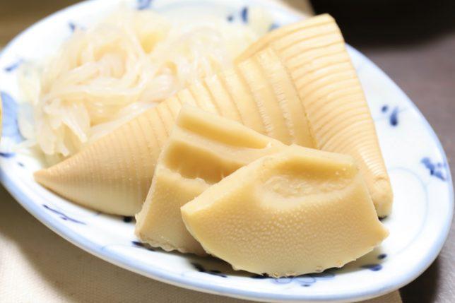 タケノコと糸こんにゃくの煮物