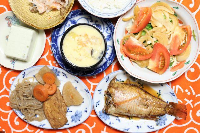 おばあと僕が出演したサラメシが放送された日の夕飯