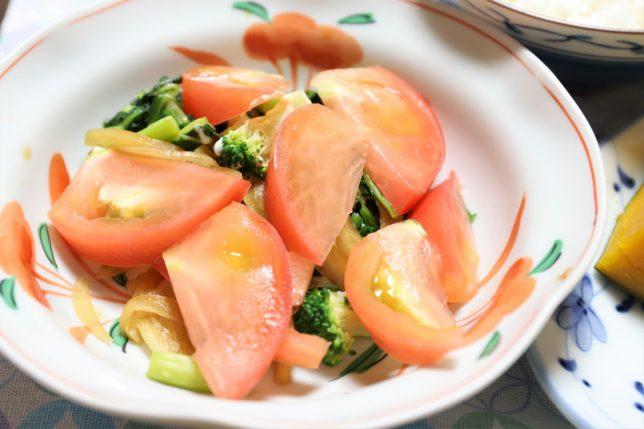 いつもの野菜サラダ