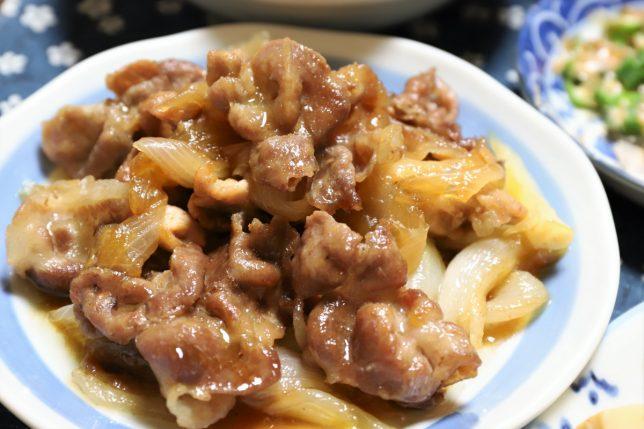 豚肉と玉ねぎの甘辛煮(豚丼の具)