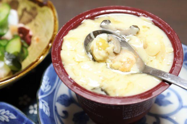 ふじや食品「地養卵茶碗蒸し海老」