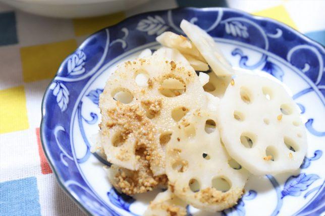 祖母が作って大晦日に食べた酢レンコン