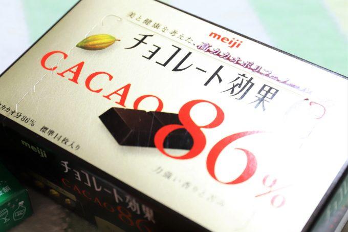 明治のチョコレート効果CACAO86%