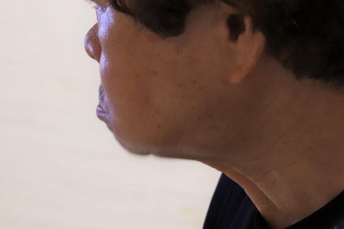 崎陽軒のシウマイを頬張った祖母(おばあ)
