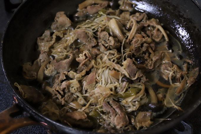 祖母(おばあ)が作った、肉の炊いたん
