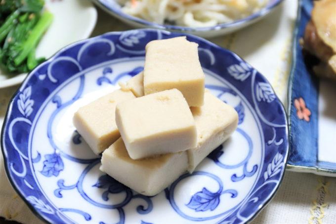祖母(おばあ)が作った高野豆腐の煮物