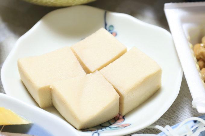 祖母(おばあ)の家で出た、高野豆腐