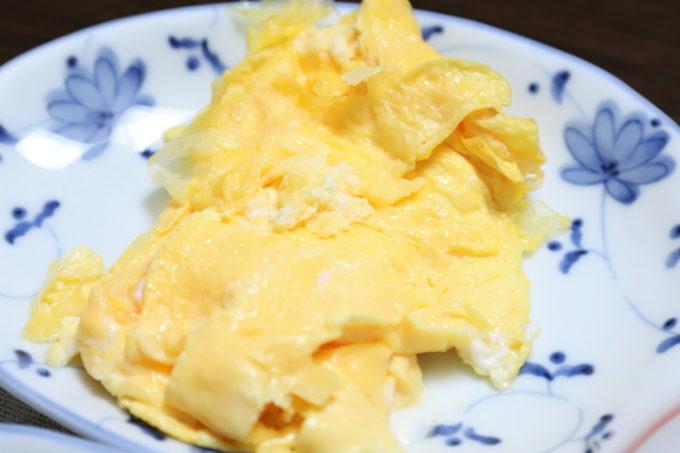 祖母(おばあ)が作った卵焼き