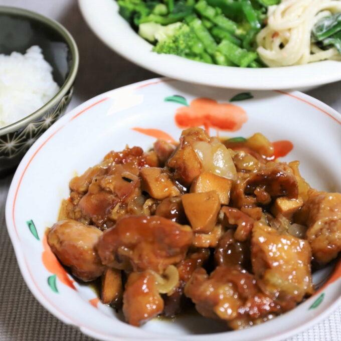 祖母(おばあ)が作った時短料理の酢鶏